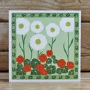A Pack Of Six 'Nasturtium' Cards