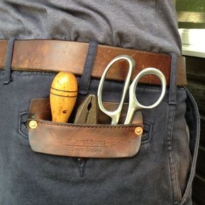 Handmade Leather Pocket - tools & equipment