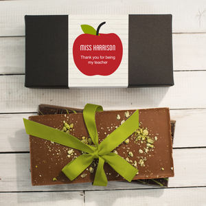 Thank You Teacher Chocolate Bar Box Set - chocolates & confectionery