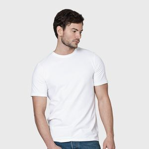 Men's Luxury Organic Cotton Fitted White T Shirt