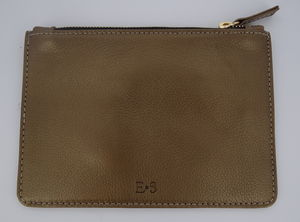 Soft Leather Small Zipped Pouch - purses & wallets