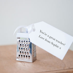 You're Great Teacher Gift Mini Grater - living & decorating