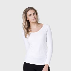 Women's Organic Cotton Long Sleeve T Shirt - tops