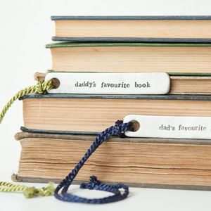 'Dad/Daddy's Favourite Book' Bookmark
