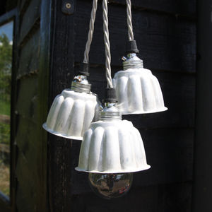 Vintage Mini Jelly Mould Lights - ceiling lights
