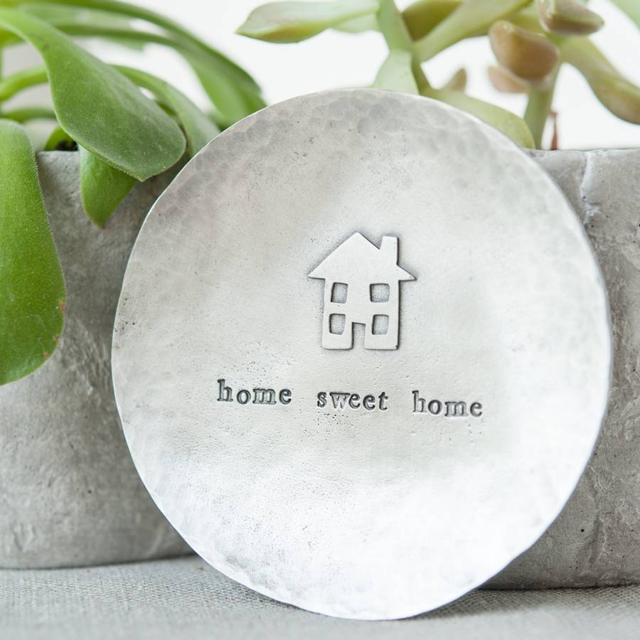 'Home Sweet Home' Trinket Dish