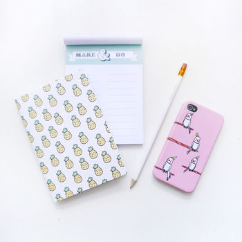 Tropical Pineapple Notebook
