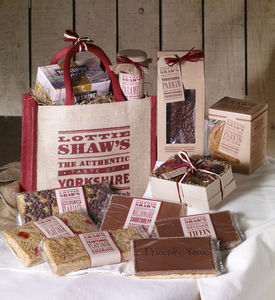Bag Of Treats With Special Gift Messages - sweet treats
