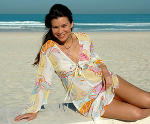 Chiffon Butterfly Cover Up - kaftans
