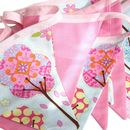 Bunting 'Pink Meadow'