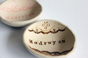 Ceramic Ring Dish - jewellery storage & trinket boxes