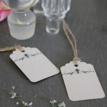 Blank Vintage Style Favour Tags