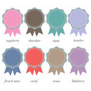 rosette colours