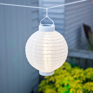 Cotton Solar Lantern - lights & lanterns