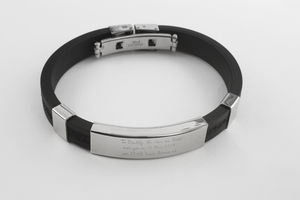 Birthday Message Bracelet For Men