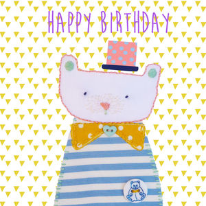 'Happy Birthday' Bear Card