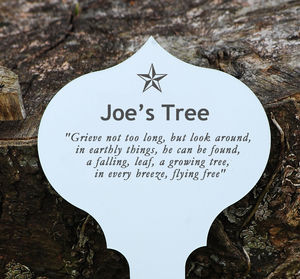 Personalised Pet Outdoor Sign/Garden Plaque