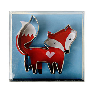 Fox Cookie Cutter - cookie cutters