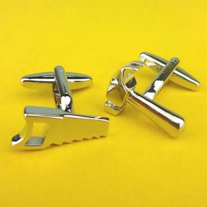 Hammer And Saw Cufflinks - cufflinks
