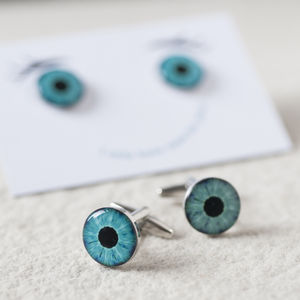 I Only Have Eyes For You Cufflinks - men's jewellery