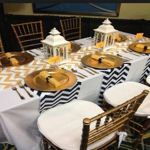 Chevron Table Runner - bed, bath & table linen