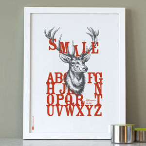 Personalised Smile Print
