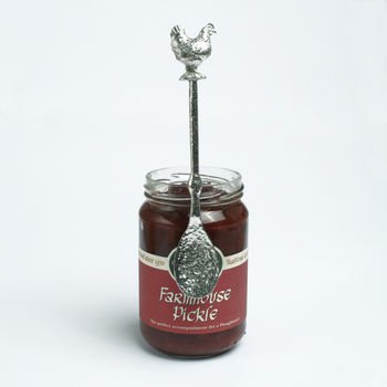 Chicken Hen Jam Jar Spoon