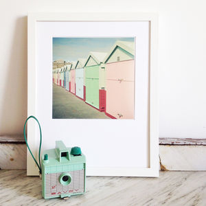 By The Sea Photographic Print - soft colour pop prints