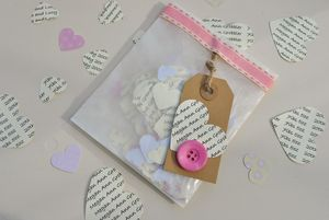 Personalised Cute Confetti - table decorations