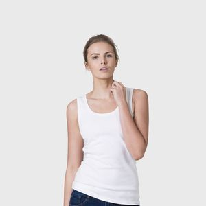Women's Relaxed Organic Cotton Vest - summer clothing