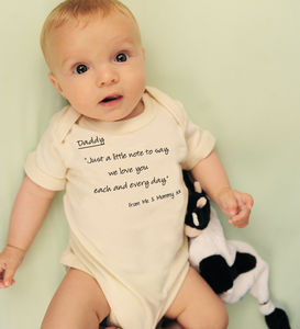 Daddy 'I Love You' Rhyme - babies' tops