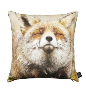 Happy Fox Cushion - cushions