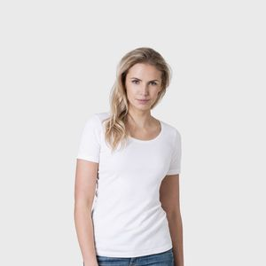 Women's Organic Cotton Scoop Neck T Shirt - tops & t-shirts