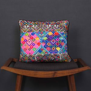 Chajul Maya Tribal Cushion - patterned cushions