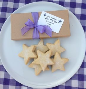 Teacher You're A Star Shortbread Gift Box - gifts for teachers