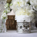 Ornate Antique Silver Tea Light Holder