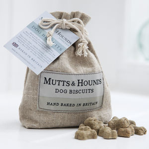 Mutts And Hounds Dog Biscuits - pets