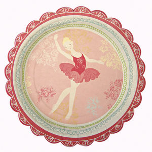 Ballerina Party Plates - tableware