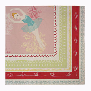 Ballerina Party Napkins