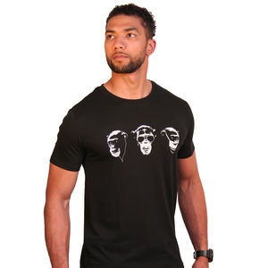 Three Wise Monkeys T Shirt - gifts for him