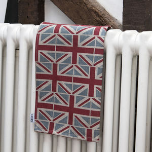 Union Jack Linen Tea Towel