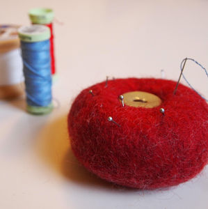 Woollen Pin Cushion - pin cushions