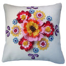 Folk Floral Cushion
