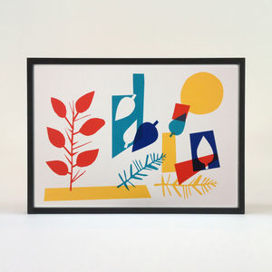 Summer Screen Print - posters & prints