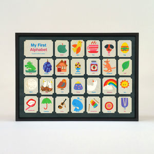My First Alphabet Print - pictures & prints for children