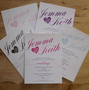 Lulu Wedding Stationery Collection - wedding stationery
