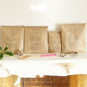 Set Of 40 Christmas Recipe Paper Gift Bags - christmas