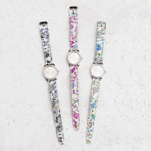 Joules Floral Print Watch - watches