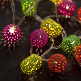 Battery Neon Maroq String Lights - christmas decorations