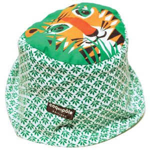 Sun Hat Tiger - babies' hats